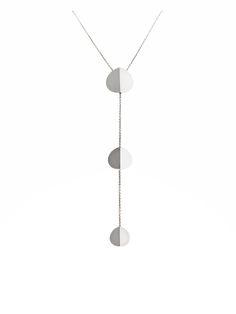 Three Stars Silver Necklace