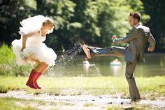 Trash the Dress Hochzeit