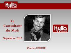 Félicitations à Charles DUBOIS pour ce mois de Septembre productif !  Toute l'équipe Kylia te félicite et est fier de te compter parmi nous.