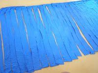 Sternenzauber13 und die Nadeln: Textilgarn aus alten Bettlaken schneiden...