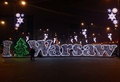 #christmas #warsaw #poland