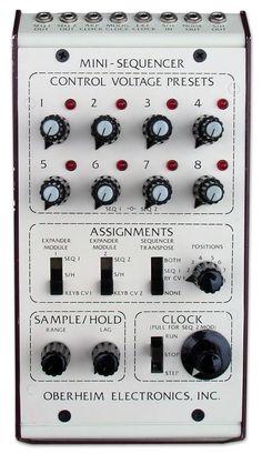 Oberheim Mini-Sequencer