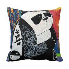 Panda Zen Pillow