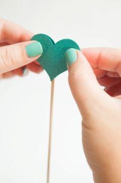 diy baton de coeur 7