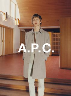 A.P.C. SPRING 2017 COLLECTION. JONAS GLOER SHOT BY VENETIA SCOTT.