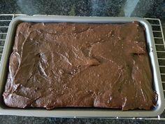 Chocolate gingerbread brownie