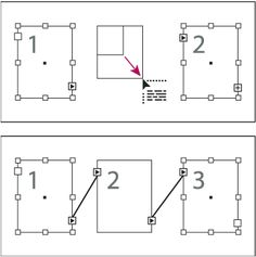 Adding frame inside a thread (top) and result (bottom)