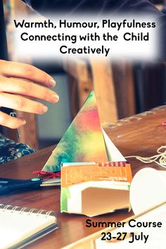 In this course we will explore therapeutic creative responses that can help children and young people for whom Autism, anxiety, ADHD etc. are creating barriers to communication and engagement.  We will draw, paint and clay model to explore how they help to open up imagination, expression and the creation of therapeutic stories.