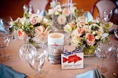 #wedding #beachstyle #weddingflowers #tableflowers