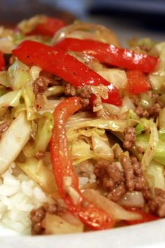 Asian Recipes, Beef Recipes, Cooking Recipes, Healthy Recipes, Stir Fry Dishes, Beef Dishes, Meat Dish, Dinner Dishes, Salads
