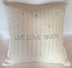 Figure skating pillow figure skate pillow by AllThatSass5678