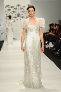 Свадебные платья в стиле ампир или греческий стиль