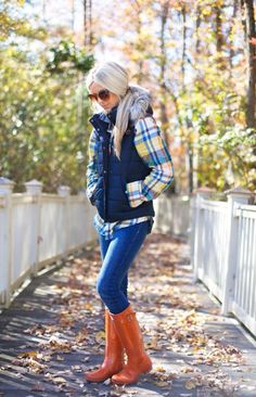 Stylish and comfortable Outfit Puffy Vest Ideas - Fashion Mode Chic, Mode Style, Fashion Mode, Look Fashion, Fall Fashion, Fashion Ideas, Fashion Outfits, Fall Winter Outfits, Autumn Winter Fashion