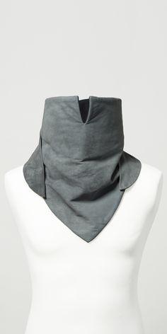 #lesDArcs #knightscarf #autumn #winter #collection #unisex #velour #leather #fashion #berlin