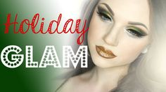 Dramatic Holiday Glam Makeup Tutorial