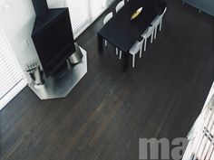 Mafi Ash Dark has a consistent dark colour with slightly reddish undertones. Mafi floors stand out due to their longevity and robustness. Timber Flooring, Hardwood Floors, Flooring Ideas, Dark Ash, Architecture Design, Tiles, Building, House, Australia