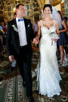 Gorgeous mermaid wedding gown #mermaidstyle