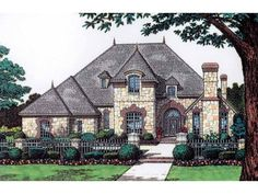 Chateau , 4 Bedroom , 2 Story