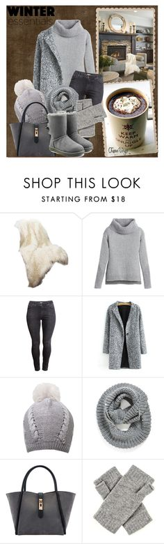 """""""""""Brrr!"""" by queenvirgo ❤ liked on Polyvore featuring mode, Best Home Fashion, White House Black Market, H&M, UGG Australia, Element et winteressentials"""