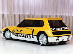 1982 Renault 5 Turbo II. I helped build this POS when I worked at Mclaren engines.  I hate that car.  RL