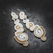 Have look at my soutache jewelry collection - earings, necklaces, bracelets - Djenka. Soutache Earrings, Belly Button Rings, Brooch, Decoupage, Jewelry, Fashion, Summer, Jewellery Making, Moda