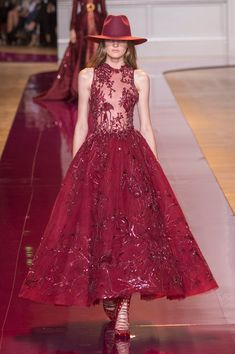 Zuhair Murad, Fall 2016 - Runway Dresses We Wish We Could Wear for Valentine's Day - Photos