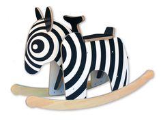 Rock and Roll | Cute Kids' Room Decor | zebra rocker safari theme baby room