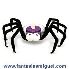 Araña Halloween  - Como Hacer Manualidades - Fantasias Miguel