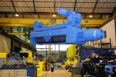 Normal headroom single girder electric hoists GH Cranes & components