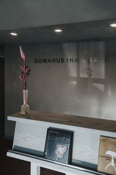 New Hotel Gowanus Inn & Yard Has Interiors Inspired by Fifties Americana Cabins In The Woods, Built Ins, Front Desk, Photo Studio, Custom Design, Reception, Yard, Inspiration, Interiors