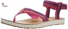 Teva Original Ombre W's, Sandales Bout Ouvert Femme, Rose (Raspberry), 42 EU - Chaussures teva (*Partner-Link)