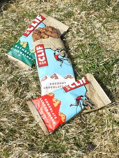 CLIF Bars. I live on these!