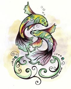 Initial concept for the Pisces in Bloom self-promotional branding. original Pisces in Bloom sketch Zodiac Art, Pisces Zodiac, Astrology Signs, Zodiac Signs, March Pisces, All About Pisces, Pisces Girl, Pisces Tattoos, Pisces Quotes