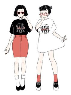 Fashion Wish have a real friend Character Drawing, Character Design, Character Inspiration, Arte Fashion, Girl Fashion, Kawaii Drawings, Cute Drawings, Cute Outfits For Kids, Cute Girls
