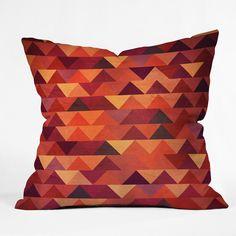 DENY Designs Iveta Abolina Trianglerain Throw Pillow