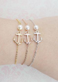 Bracelets dancrage avec bracelet de demoiselle dhonneur