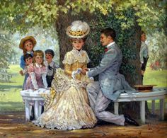 such a beautiful scene (painting by Alan Maley)
