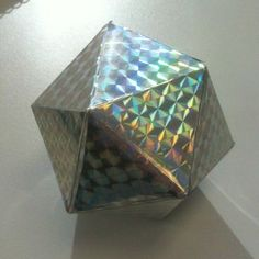 Math-Related Decorations: The 20 Sided Icosahedron