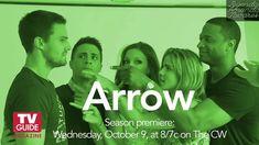 Entrevista do elenco de Arrow à TV Guide na SDCC13 - Legendada