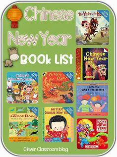 Books about Chinese New Year - Clever Classroom