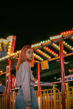photoshoot amusement park