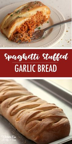 Spaghetti Stuffed Garlic Bread for dinner. We love this easy dinner recipe so mu… Spaghetti Stuffed Garlic Bread for dinner. We love this easy dinner recipe so much and so do the kids! Fun Dinners For Kids, Healthy Meals For Kids, Quick Easy Meals, Kids Meals, Fun Kid Dinner, Dinner Recipes Easy Quick, Easy Dinners, Garlic Bread Spaghetti, Bread Kitchen