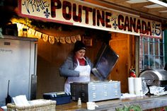 There's nothing more Canadian than poutine! ©Thane Lucas 2012