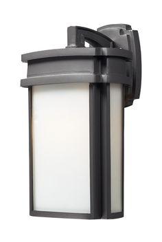 ELK Lighting Sedona 1- Light Outdoor Sconce In Graphite - 42341/1