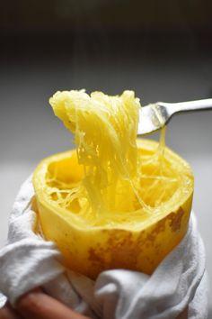 Pressure Cooker Spaghetti Squash by Michelle Tam http://nomnompaleo.com