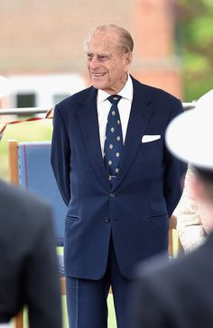 Prince Philip Photos Photos - Britain's Prince Philip, Duke of Edinburgh visits Pangbourne College, in Berkshire County on the occasion of the school's centenary on May 9, 2017 in Pangbourne, England. The Queen & Duke of Edinburgh Visit Pangbourne College to Celebrate Its Centenary