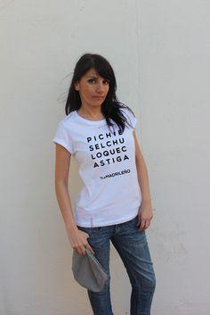 Image of Camiseta PICHI - Mujer - Blanco