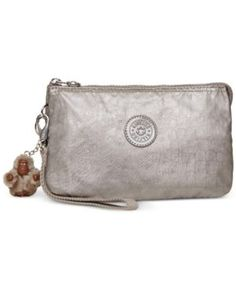 Kipling Creativity Extra Large Cosmetic Pouch - Gray