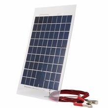 Solar Charger Panel Charging Portable External Battery Solar Charger Bank for Car W/Crocodile Clips Outdoor Tool Diy Solar System, Solar Panel System, Panel Systems, Solar Panels, Solar Charger, Solar Battery, Portable Battery, Lead Acid Battery, Off Grid Batteries