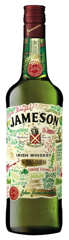 Jameson whiskey, limited edition to celebrate St. Patrick's Day